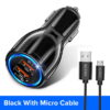 Black with 1m Cable